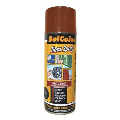 Tinta Spray Marrom Beltools 400ml