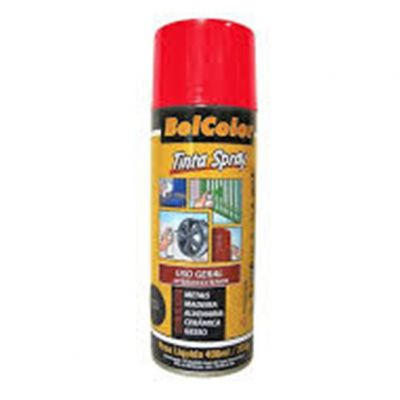 Tinta Spray Vermelho Beltools 400ml