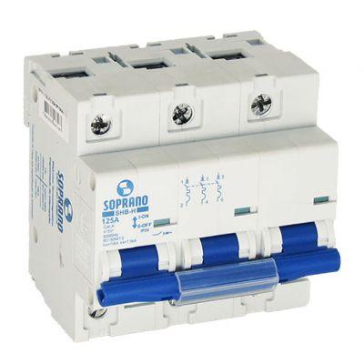 Disjuntor Termomagnetico Shb3 H-125a 10 ka