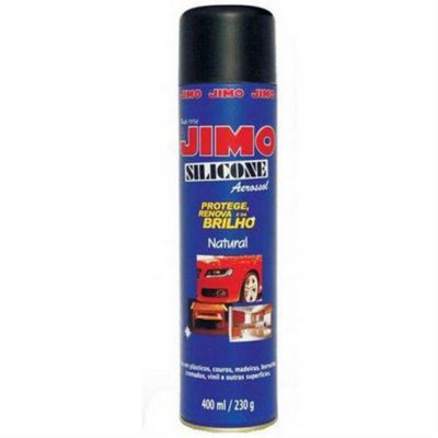 Silicone Spray 400ml Carro Novo Jimo