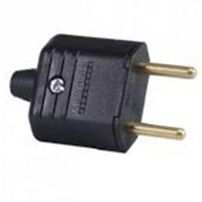 Plug Macho Pld11-2 Pinos 10a Preto c/ Prensa Cabo