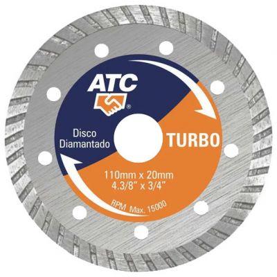 Disco Diamantado 110mm Turbo Linha Pro Conex