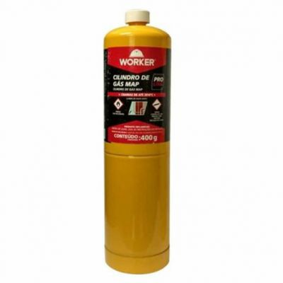 Cilindro Gas Mapp Pro 400g  Worker