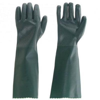 Luva Pvc Verde c/ Forro 56cm Ca37697 Ldi