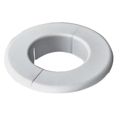 Acabamento de Parede Circular Branco Split