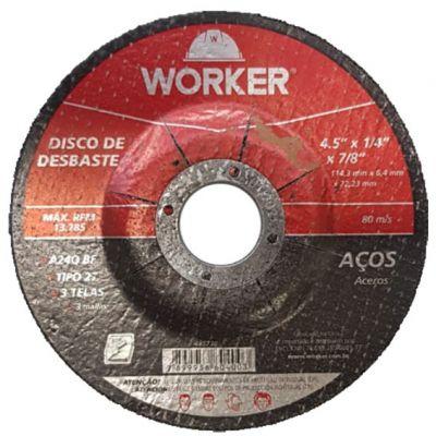 Disco Desbaste 115x6,4x22,2 Worker