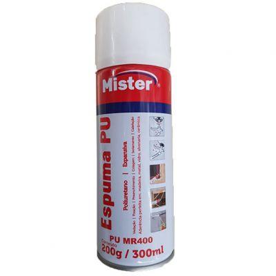 Espuma Poliuretano 300ml/200g  Mister