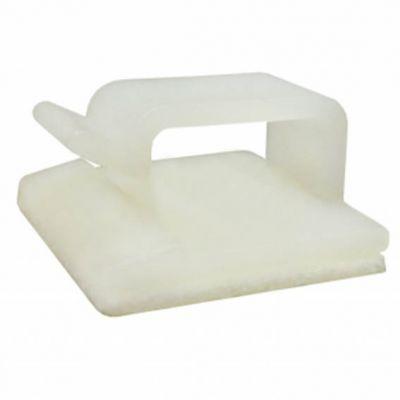 Fixador Adesivo p/ Cabo ou Abraçadeira 16mm