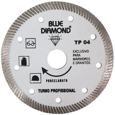 Disco Diamantado 110mm Turbo Porcelanato Tp-04