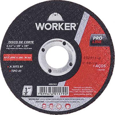 Disco Corte Aco 12x1/8x1 Worker