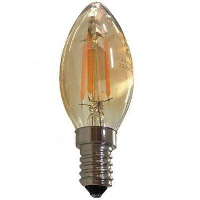Lampada Incandescente Vela G93.53 3000k 220v Ctb