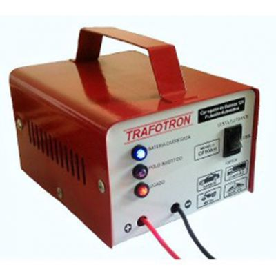 Carregador Bateria 10a 12v Cf10 s/ Visor Trafotron