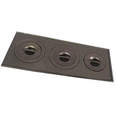 Chapa Fogão Ferro Fundido 100x29x35cm