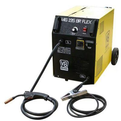 Transformador Solda Mig 195a C/gas ou S/gas 220v v8