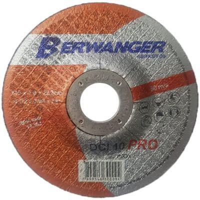 Disco Corte Aço/inox 115x1,00x22,2 Dci Deprimido Berwanger