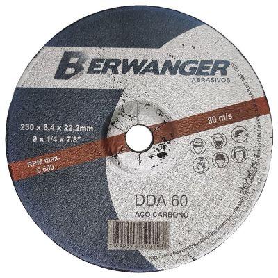 Disco Desbaste Metal 9x1/4x7/8 Berwanger