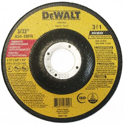 Disco Corte/desbaste 115x25x22 3x1 Dewalt
