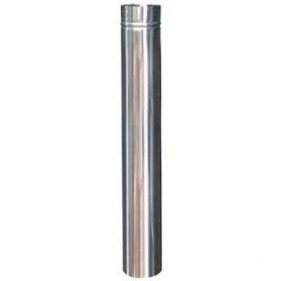 Cano Inox 11,0cm 1m p/ Fogão