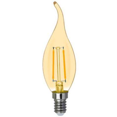 Lampada Led Filamento Retro Vela E14 2w 2200k Blumenau