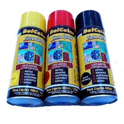 Tinta Spray Amarelo Beltools 400ml