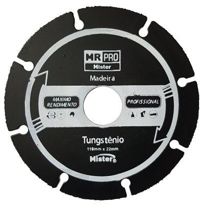 Disco s Tungstenio mr Pro 180mm Madeira Mister