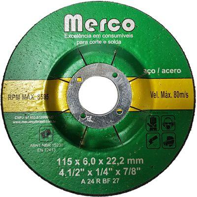 Disco Desbaste 115x6,4x22 Merco/nobre