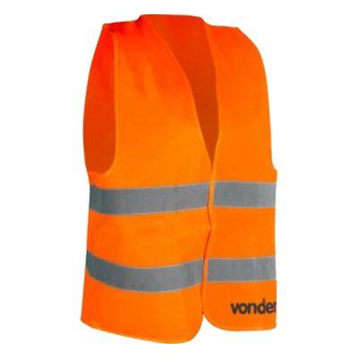 Colete Refletivo Tipo Blusão Laranja Cv101 Vonder