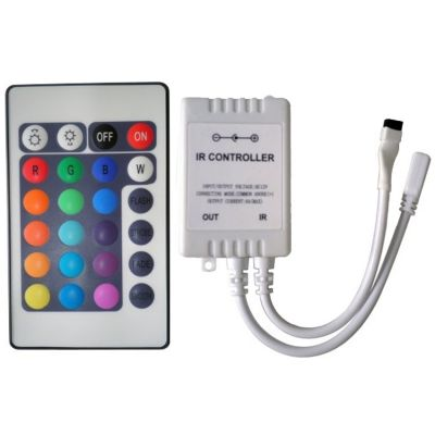 Controlador Rgb c/ Controle 110v e 220v Cristallux