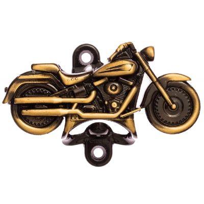 Abridor de Garrafa Moto Harley Ouro Velho