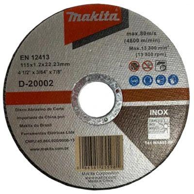 Disco Corte Aço/inox 115x1,0x22,2 D-7201 Makita
