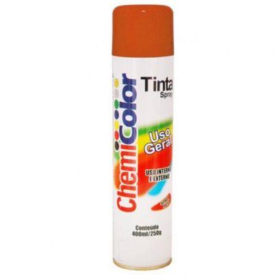 Tinta Spray Laranja Chemicolor 400ml