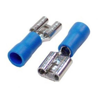 Terminal Femea Azul 1,5-2,5mm2 Fe226