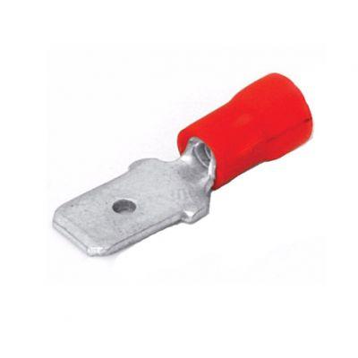 Terminal Macho Vermelho 0,5-1,5mm2