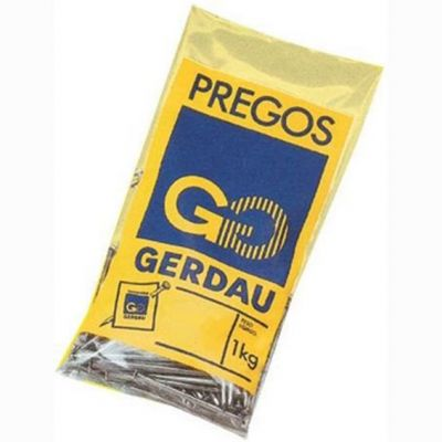 Prego 25x72 Gerdau