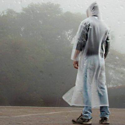 Capa de Chuva Descartavel Transparente