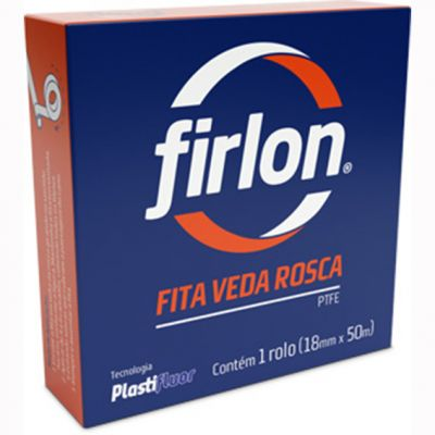Fita Veda Rosca Firlon 18x50m