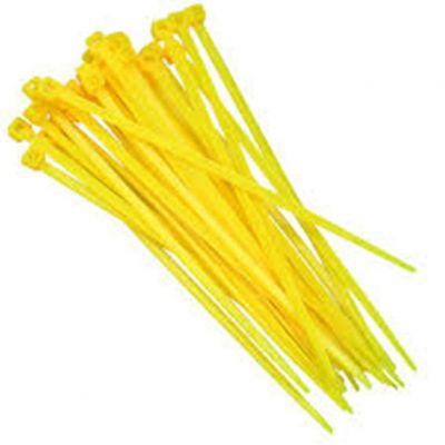 Abraçadeira Nylon 3,7x151 Amarela 100pcs
