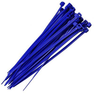 Abraçadeira Nylon 3,7x151 Azul 100 Pçs