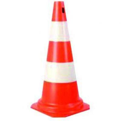 Cone 75cm Br/lar Flex Refletivo