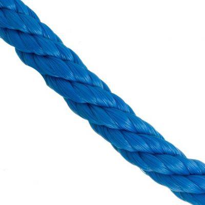 Corda 12mm Polietileno Torcida Azul 15,4m/kg Itacorda
