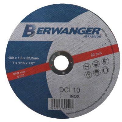 Disco Corte Aço/inox 230x1,9x22,2 Dci Berwanger