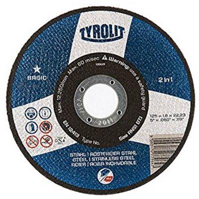 Disco Corte Aço/inox 180x1,8x22,23 Blue