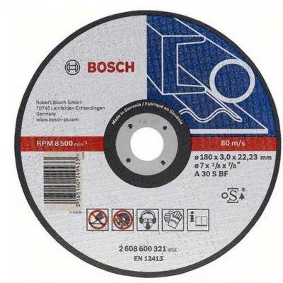 Disco Corte Aço/inox 12x1/8x3/4 Bosch