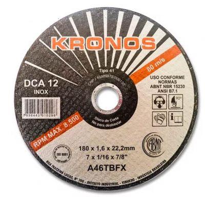 Disco Corte Aço/inox 12x1/8x1 Dca 300x3,2x25,4