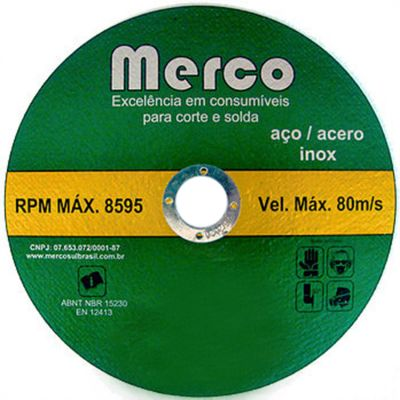 Disco Corte Metal 300x3,2x25,4mm Merco