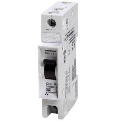 Disjuntor Unip 50a Siemens