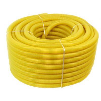 Eletroduto Corrugado Amarelo 1/2 Mangueplast