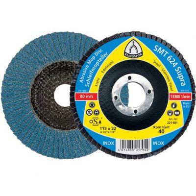 Flap Disc Curvo Plast Kling 41/2 40 Smt325