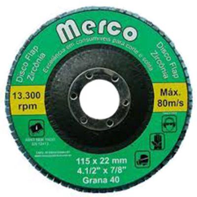 Flap Disc Blue Fire 120 4.1/2 Merco