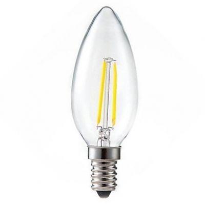 Lampada Led Filamento Vela E27 3w 2700k Ourolux
